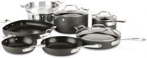 All-Clad Nonstick Cookware Set