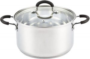 Cook N Home 5 Quart Stainless Steel Stockpot