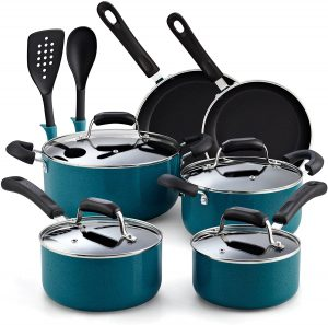 Cook N Home's 12-piece Non-stick Cookware Set