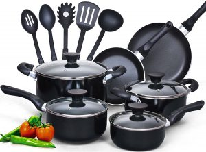 Cook N Home's 15-piece Non-stick Cookware Set