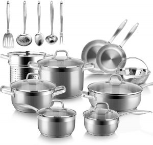 Duxtop's Professional Stainless Steel Cookware Set