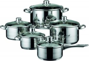 Elo Skyline Stainless Steel Cookware Set