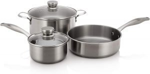 Frigidaire 5304513525 Stainless Steel Cookware Set