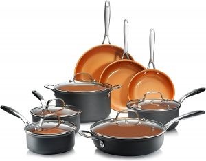 Gotham Steel Premium Cookware Set