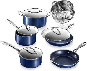 GraniteStone Diamond Cookware Set