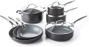 GreenPan's Valencia Pro Cookware Set