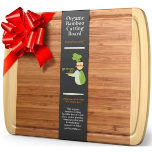 Greener Chef Extra Large Bamboo Chopping Board