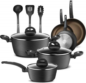NutriChef's Non-stick Cookware Set