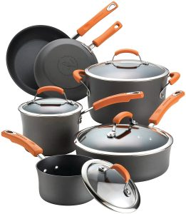 Rachael Ray's Brights 10 Piece Cookware Set