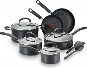 T-fal C561SC Nonstick Cookware Set