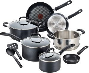 T-fal's Professional Non-stick Cookware Set