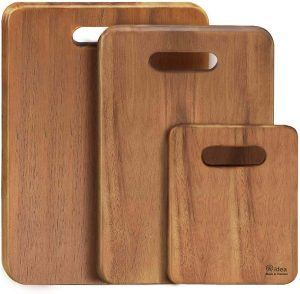 Aidea Wood Cutting Board Set
