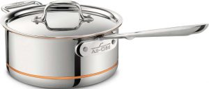 All-Clad 6203 Saucepan With Lid