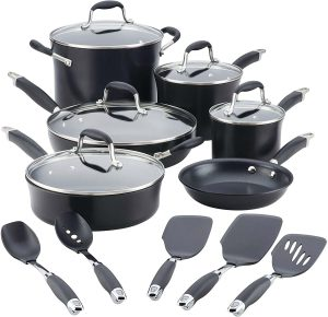 Anolon Advanced Hard-Anodized Nonstick Cookware