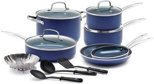Blue Diamond Pan Cookware Set