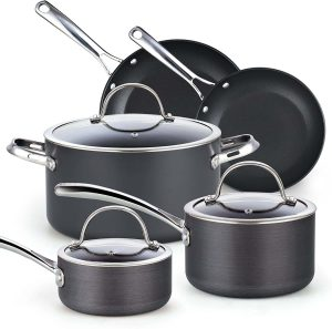 Cooks Standard, Nonstick Hard-Anodized Cookware Set