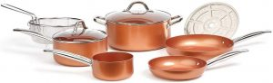 Copper Chef Cookware 9pcs Set