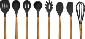 Country Kitchen Silicone Cooking Utensils