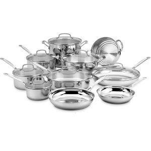 Cuisinart 77-17N Chef's Classic Stainless Steel Set