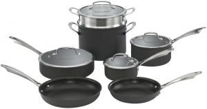 Cuisinart Dishwasher Safe Hard-Anodized Set