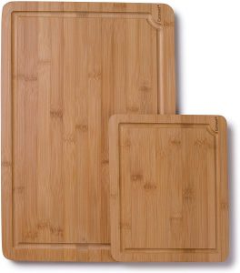 EatNeat Set of 2 Bamboo Cutting Boards