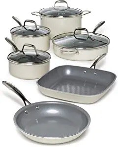 Goodful 10 Piece Cookware Set