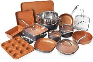 Gotham Steel Cookware   Bakeware Set