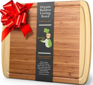 Greener Chef's Extra Large Bamboo Cutting Board