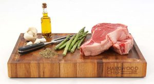Hardwood Chef Thick Wood End Grain Cutting Board
