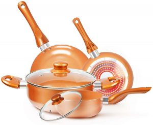 KUTIME 6pcs Cookware Set