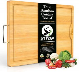 Large & Extra-Thick Bamboo Cutting Boards