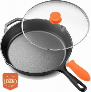 Legend Cast Iron Skillet With Lid
