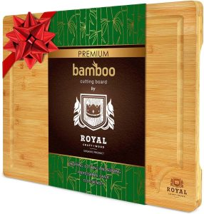 Royal Craft Premium Bamboo Cutting Board