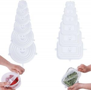 Silid Stretchable Microwave Cookware Lid Set