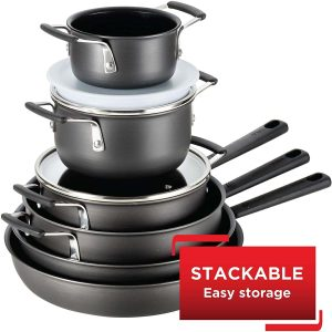 T-Fal All-In-One Hard-anodized Nonstick Cookware Set