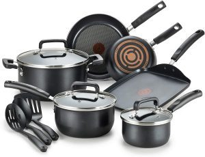 T-Fal Dishwasher Safe Cookware Set