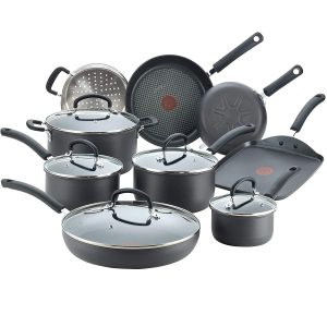T-Fal E918SE Ultimate Hard-anodized Nonstick Cookware Set Best Hard-anodized Cookware