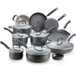 T-Fal Ultimate Hard-Anodized Nonstick Cookware Set