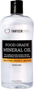 Thirteen Chefs Food Grade Mineral Oil