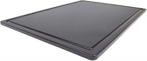 Thirteen Chefs' Large Black Carving Board