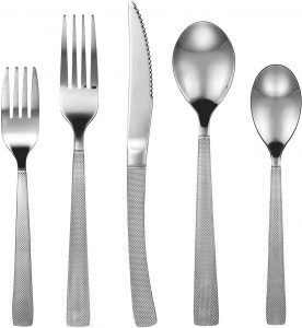 Dokaworld 20-Piece Flatware Cutlery Set