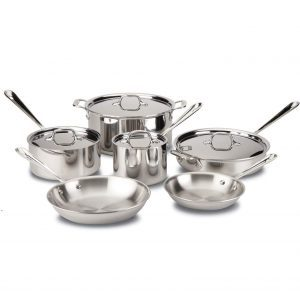 All-Clad D3 Stainless Cookware Set Best All-Clad Cookware