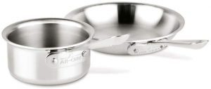 All-Clad D3 Stainless Steel 2-piece Starter Set