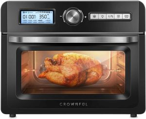 CROWNFUL 19 Quart Air Fryer Toaster Oven