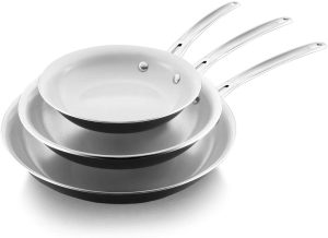 Cooker King Ceramic Nonstick Frying Pan Set
