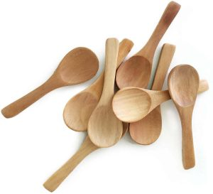 Generies 30 Pieces Small Wooden Spoons