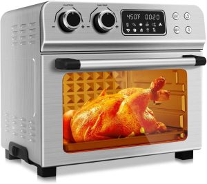KBS 1700W Stainless Steel 10-in-1 Air Fryer Oven