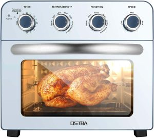 OSTBA Air Fryer Oven 1700W Air Fryer Toaster Oven Combo